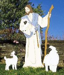 Good Shepherd Yard Ornament Plan