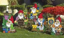 Garden Gnomes Plan by Sherwood Creations