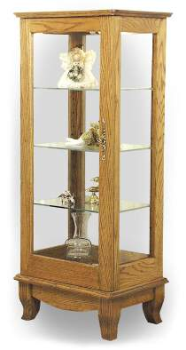43in. Display Cabinet Plan