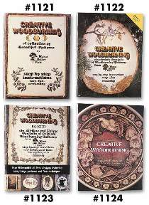 Creative Woodburing Books from Walnut Hollow Farm