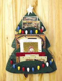 Christmas Card Tree Plan