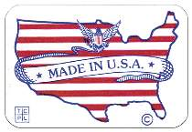 Made in USA Stickers