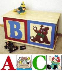 ABC Toy Box Plan