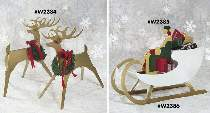 Sleek and Stylish Reindeer, St. Nick and Sleigh Plans by Better Homes & Garden WOOD