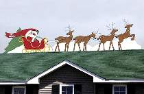 Santa, Sleigh and Reindeer Plan