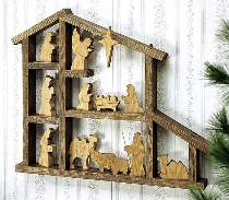 Shadowbox Nativity Plan