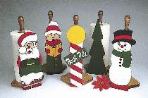 Holiday Paper Towel Holders Plan