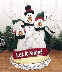 Let It Snow-men Plan