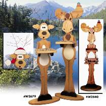 Reindeer & Moose Bird Feeder/Welcome Plans