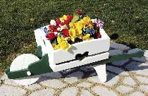 Wheelbarrow Planter Plan