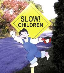 Child Safety Sign Plan