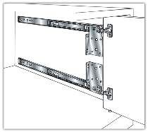 Pocket Door Flipper Door Slides