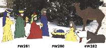 Yard Size Nativity Plans