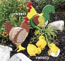Yard Chickens & Chicks Plans