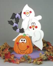 Light-Up Ghosts & Pumpkin Plan