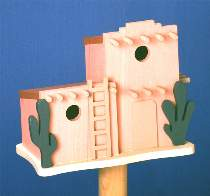 Adobe Birdhouse Plan