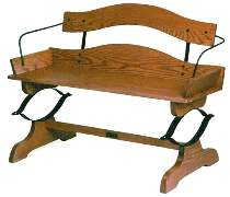 Buckboard Bench Plan & Parts Kit by The Roudebush Co.