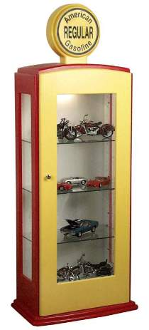 Gas Pump Display Cabinet Plan