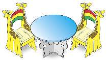 Childrens Table and Chairs Plan