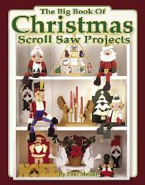 Christmas Scroll Saw Projects by Paul Meisel