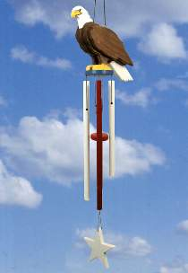 Eagle Sentry Wind Chime Plan