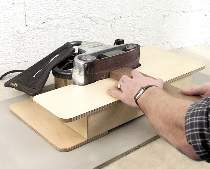 Belt Sanding Table Plan