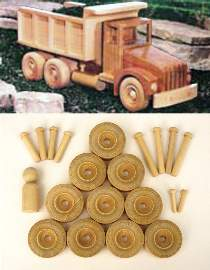 WOOD Magazine Dump Truck Hardware