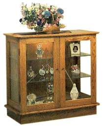 35in. Display Cabinet Plan