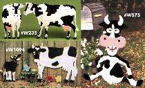 Cow Lawn Ornaments