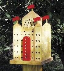 Orchard Mason Bee Castle Plan
