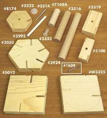Whirligig Hardware Parts