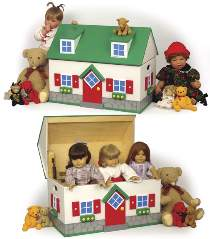 Cottage Toy Box Plan