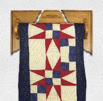 Adjustable Wall Quilt Rack Plan