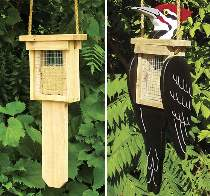 Woodpecker Suet Feeders Plan