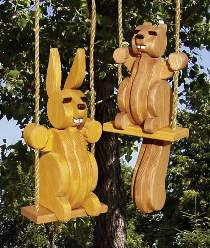 Swinging Squirrel and Bunny Plan