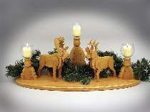 Northwoods Candle Holder Plan