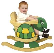 Infant Rocking Turtle Chair Plan