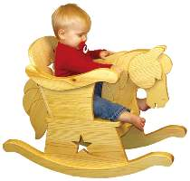 Infant Rocking Horse Chair Plan