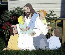 Jesus and Children Plan