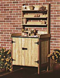 Potting Bench Plan by WOOD Magazine