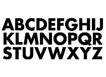 Alphabet Decal