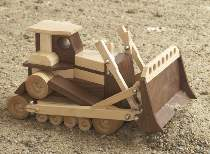 WOOD Magazine Bulldozer Plan
