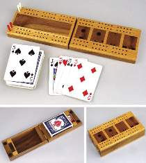 Fold-Up Cribbage Board Plan