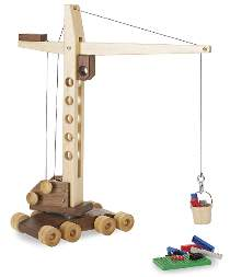 WOOD Magazine Mobile Crane Hardware Only