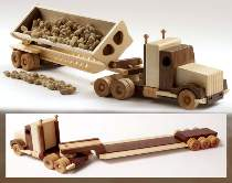WOOD Magazine Tractor & Trailers Plan