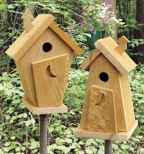 Outhouse Wren Houses Plan