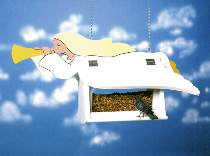 Angel Bird Feeder Plan