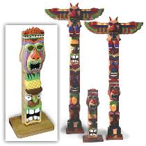 Hawaiian Totem Pole Plan by Don Kocken