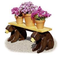 Black Bear Plant Stand Plan