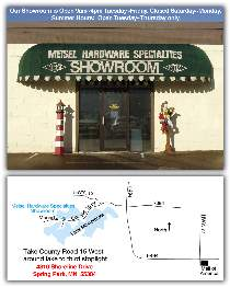 Showroom Map & Business Hours